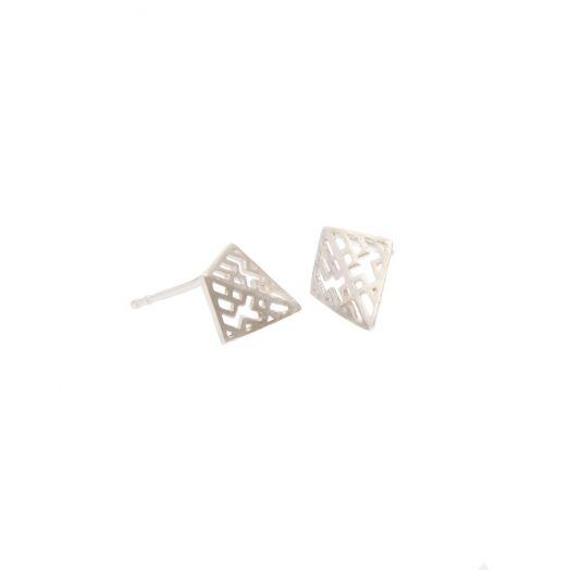 Miriam Wade | Sterling Silver Auriga Stud Earrings