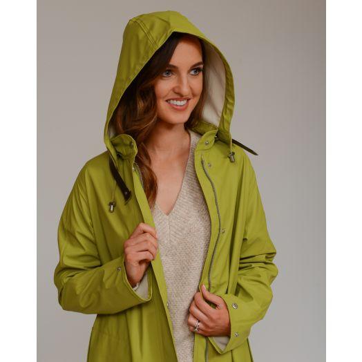 Ilse Jacobsen | Rain Jacket Rain71 -Moss Green