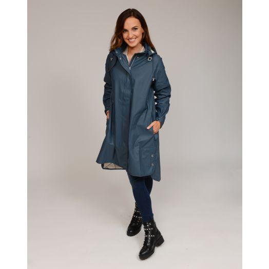 Ilse Jacobsen | Rain Jacket Rain71 -Orion Blue
