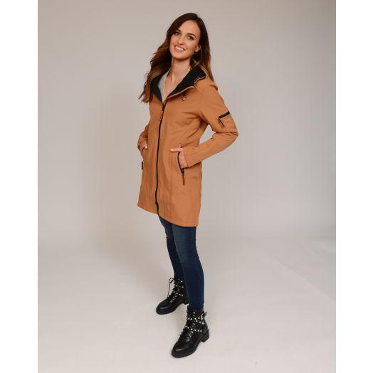 Ilse Jacobsen | Softshell Raincoat Rain7 -Cashew