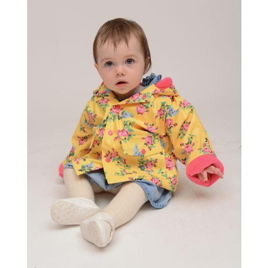 Powell Craft | Lemon Floral Raincoat
