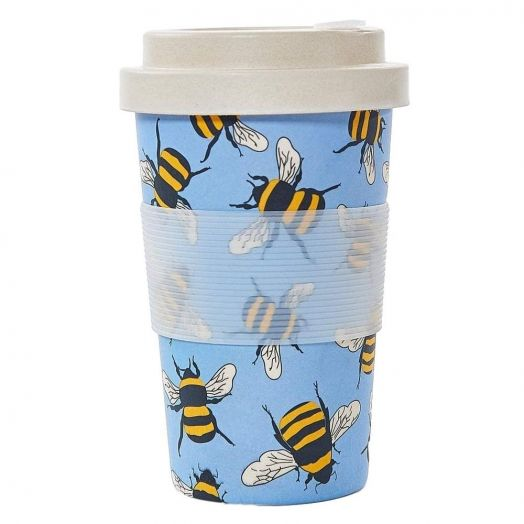 Eco Chic | Blue Bees Bamboo Cup