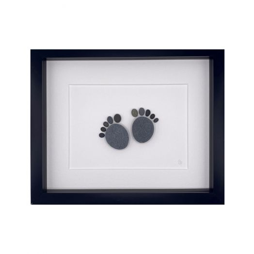 Simply Mourne | Baby Feet Medium Frame -Black