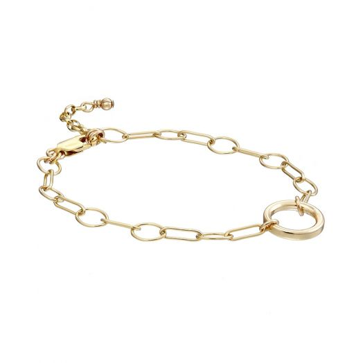 Scribble and Stone | 14ct Goldfill Celestial Chain Bracelet