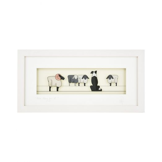 Black Hen Designs | Nice Day For it Framed Art