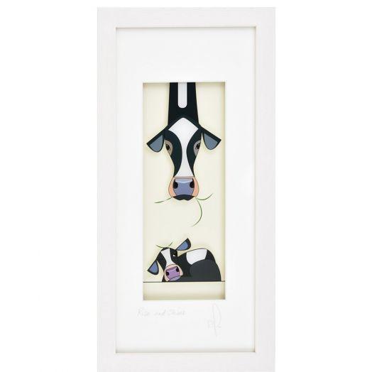 Black Hen Designs | Rise and Shine Framed Art