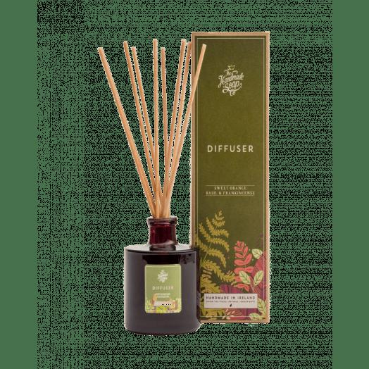 The Handmade Soap Company | Sweet Orange, Basil and Frankincense Diffuser