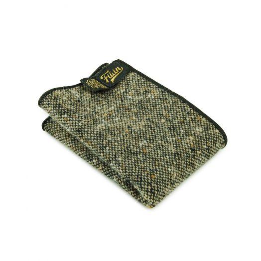 Fiáin   Donegal Tweed Pocket Square   Burren