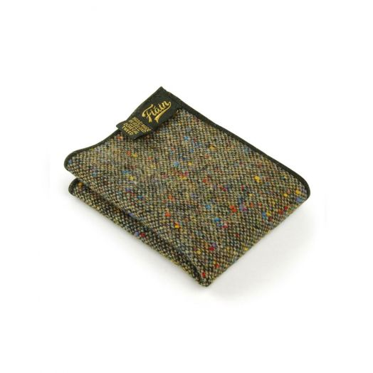 Fiáin   Donegal Tweed Pocket Square   Claddagh