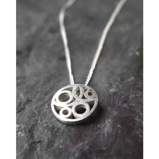 Miriam Wade   Sterling Silver Small Flow Pendant