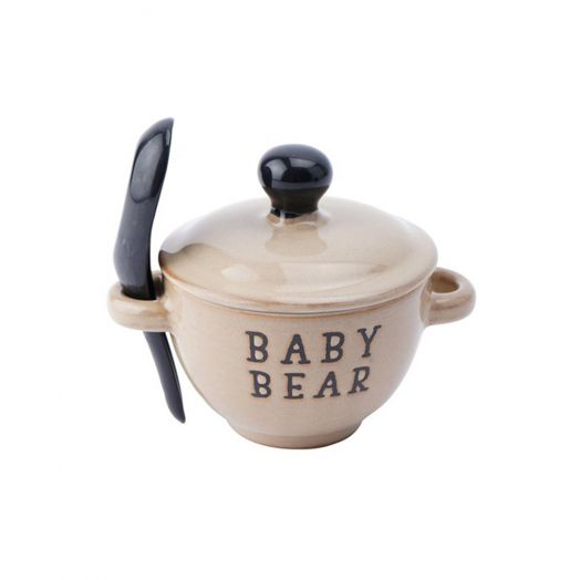 Baby Bear Porridge Bowl With Spoon Set