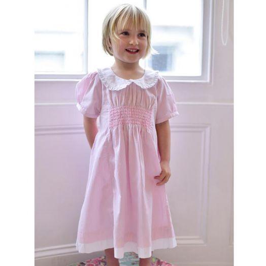 Powell Craft | Smock Dress- Pink
