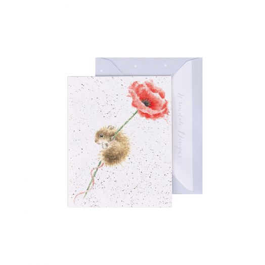 Wrendale | Poppy Mini Card