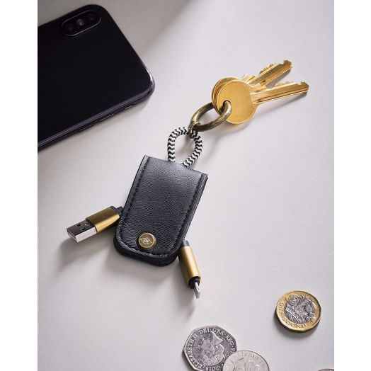 Wild And Wolf | Gentlemen's Hardware Keychain Charging Cable