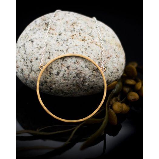 Lynsey De Burca | Ancaire Silver/Gold Necklace