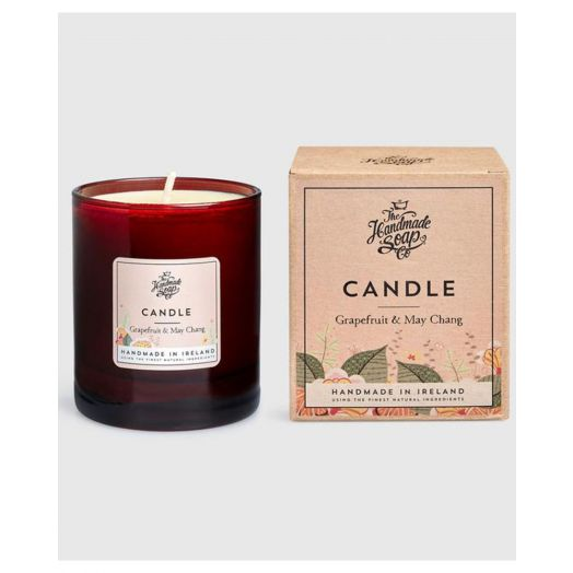 The Handmade Soap Company | Grapefruit and May Chang Candle