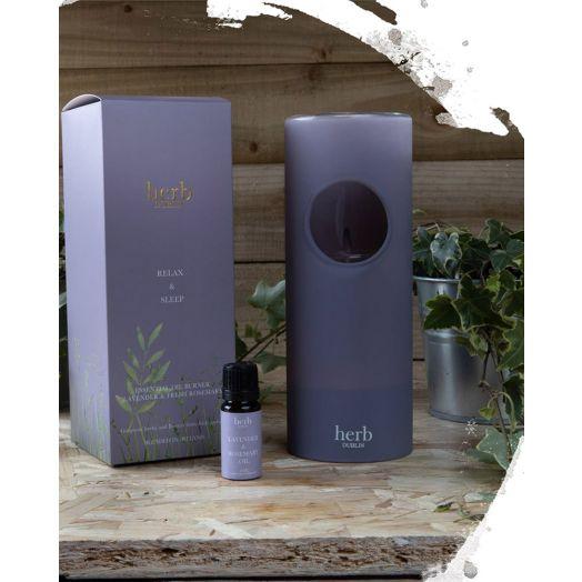 Herb Dublin | Essential Oil Burner -Lavender and Rosemary