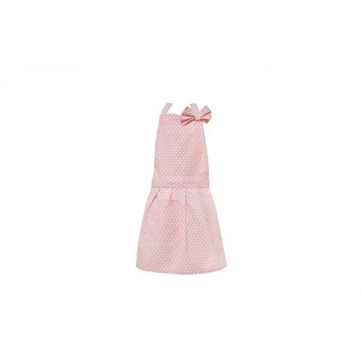 Isabelle Rose | Kids Polka Dot Apron - Pink
