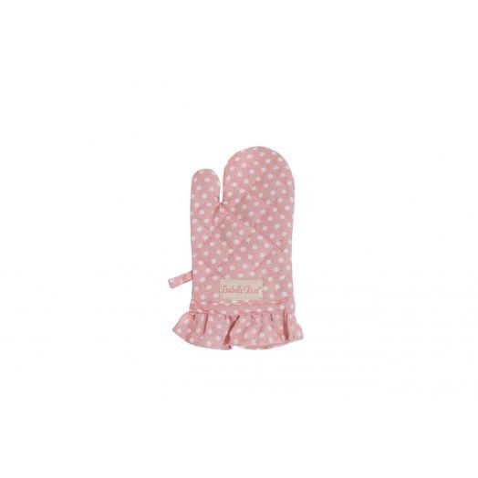 Isabelle Rose | Kids Polka Dot Oven Glove - Pink