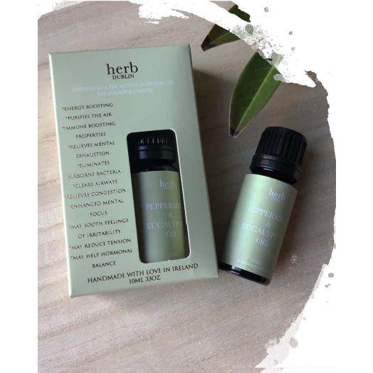 Herb Dublin | Peppermint and Eucalyptus Essential Oils