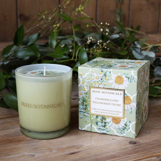 Irish Botanicals | Chamomile and Wild Burren Thyme Candle