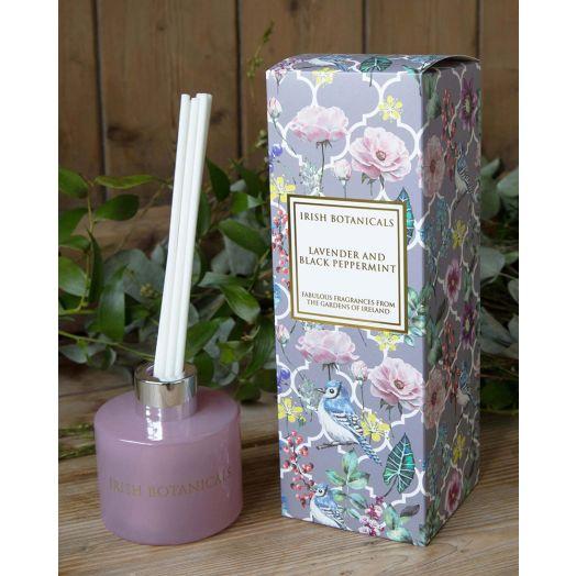 Irish Botanicals | Lavender and Black Peppermint Diffuser