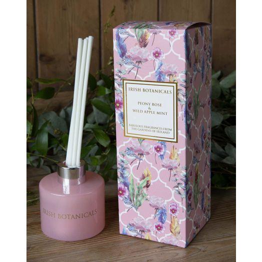 Irish Botanicals | Peony Rose and Wild Apple Mint Diffuser