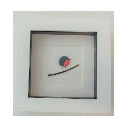Simply Mourne | Mini Robin Frame- White