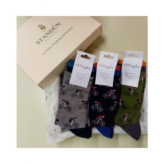 Thought | Bicycle Sock Gift Box