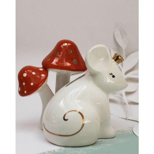 House of Disaster | Secret Garden Mouse Money Box