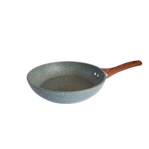 Isabelle Rose   Grey Marble Frying Pan