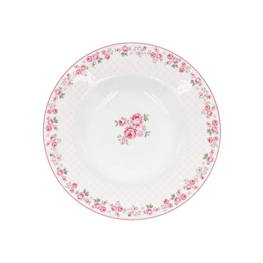 Isabelle Rose   Porcelain Lucy Soup Plate