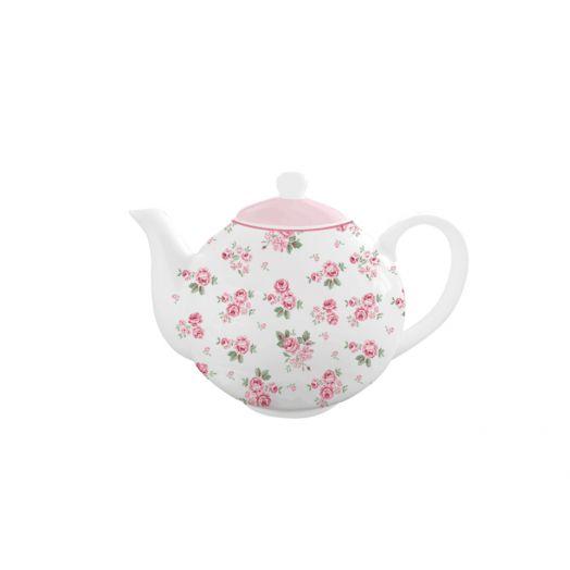 Isabelle Rose   Porcelain Lucy Teapot