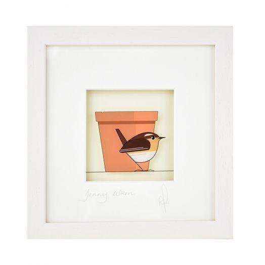 Black Hen Designs | Jenny Wren Framed Art