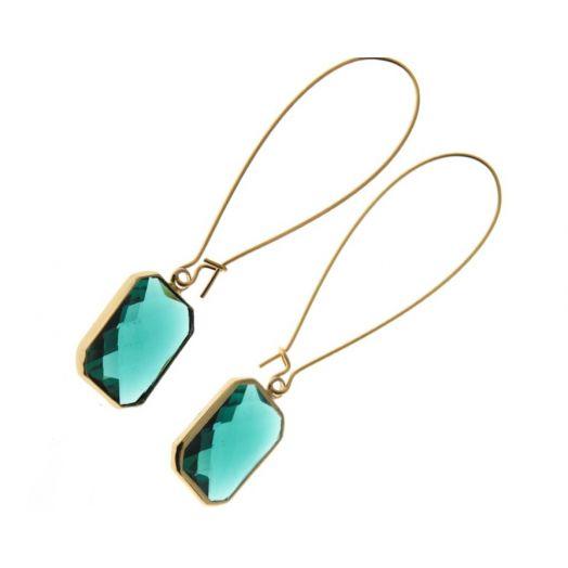 K Kajoux   Emerald Deco Drops