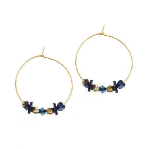 K Kajoux | Refraction Nugget Hoop Earrings