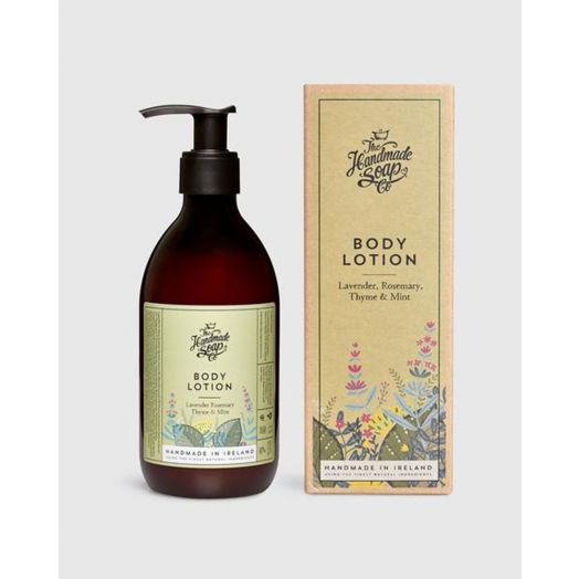 The Handmade Soap Company | Lavendar, Rosemary, Thyme and Mint Body Lotion