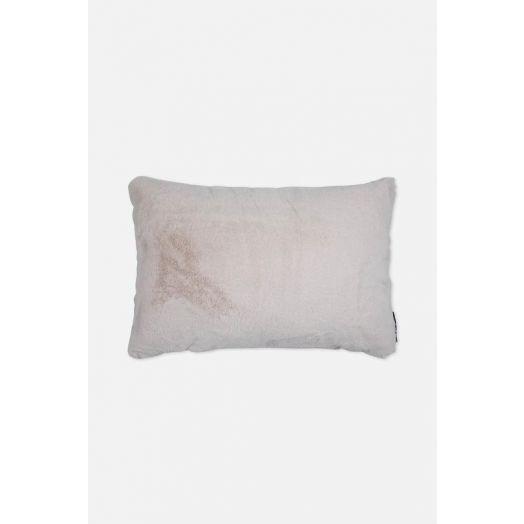 Rino & Pelle| Lavoya Faux Fur Cushion - Birch