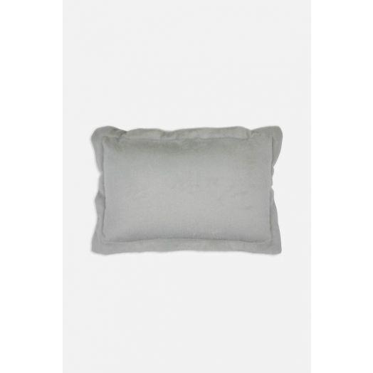 Rino & Pelle | Vegan Faux Fur Leather Cushion - Desert Sage