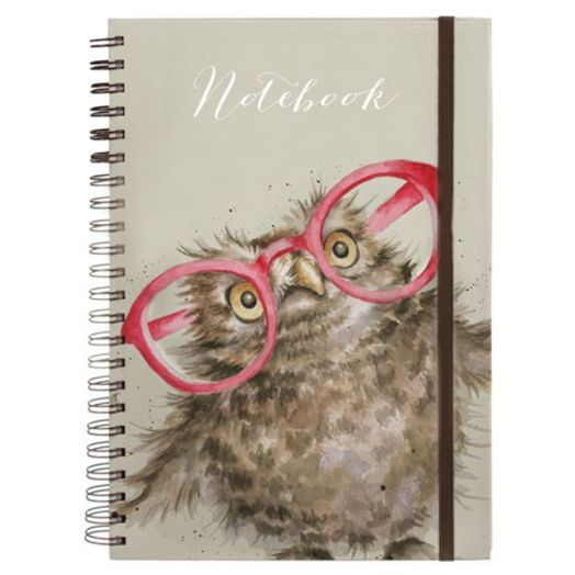 Wrendale | Spectacular Owl Spiral Bound Notebook