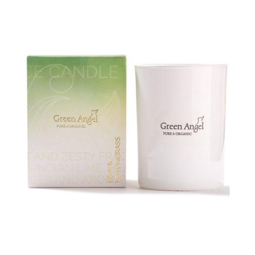 Green Angel | Lime and Lemongrass Candle