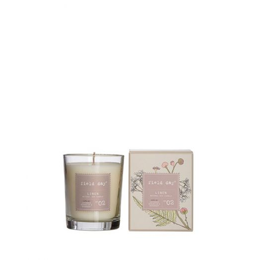 Field Day | Large Linen Candle