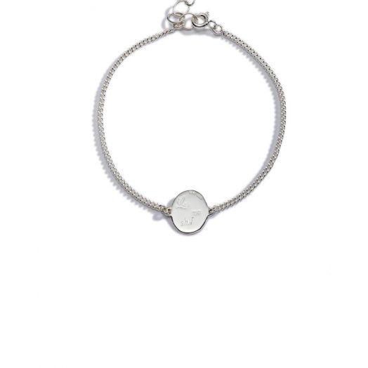 Enibas | Las Mo Shlí | Silver Diamond Bracelet