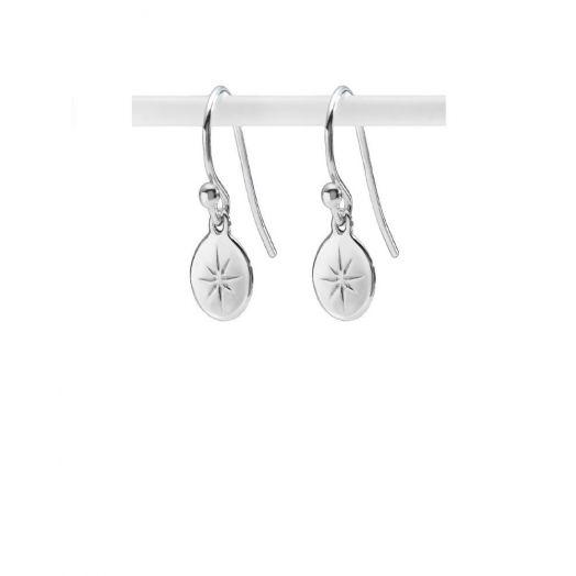 Enibas | Las Mo Shlí Silver Drop Earrings