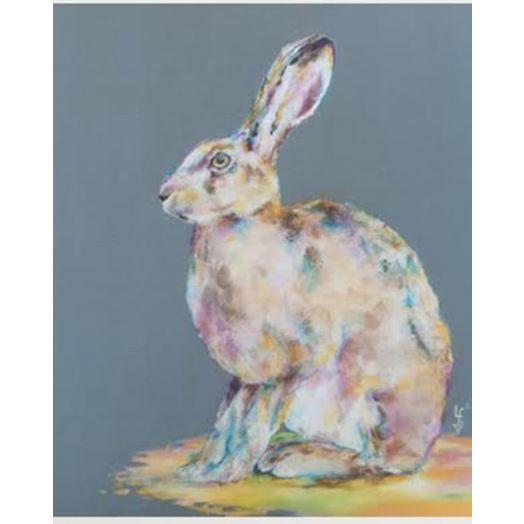 Lorraine Fletcher | Hare Today Print - Small