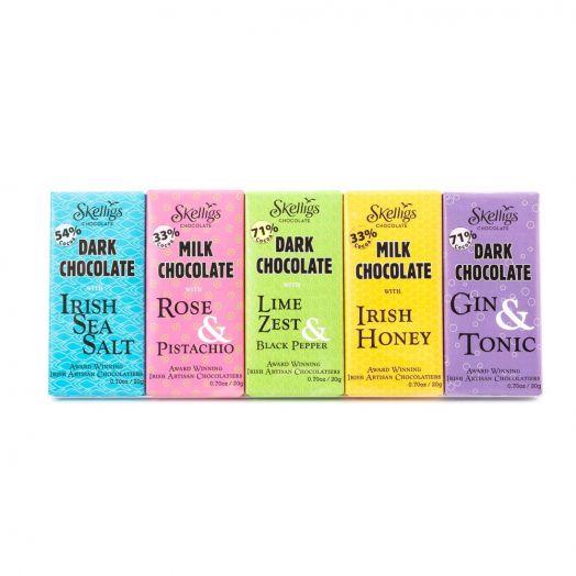 Skelligs Chocolate | 5 Bar Gift Pack