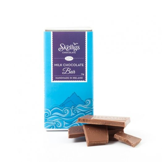 Skelligs Chocolate | Milk Chocolate Bar