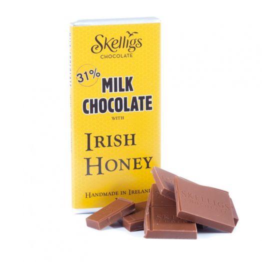 Skelligs Chocolate | Irish Honey Chocolate Bar