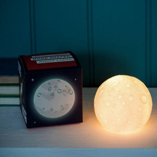 Rex London   Space Age Moon Night Light