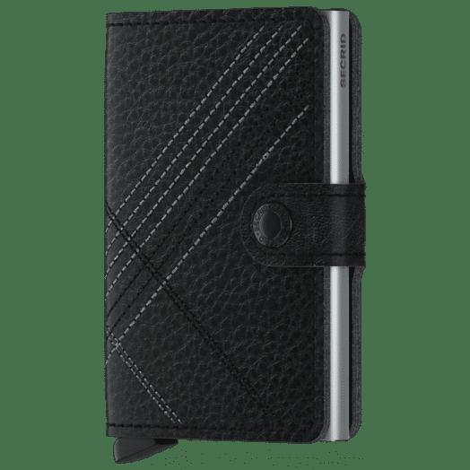 Secrid | Miniwallet-Stitch Linea Black